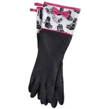Goodie Two Shoes Rubber Gloves with Bow