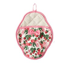 Berries Jubilee Bow Scalloped Pot Mitt