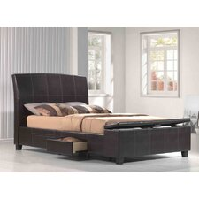Irvine Upholstered Storage Sleigh Bed