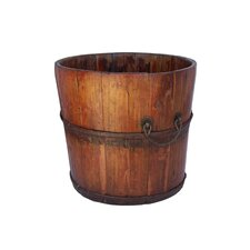 Vintage Wooden Sink Bucket