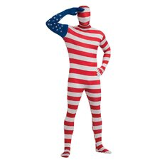 U.S. Flag Second Skin Suit Costume