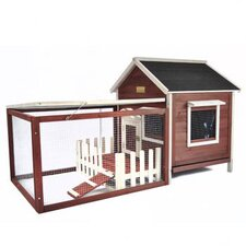The White Picket Fence Rabbit Hutch