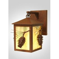 Ponderosa Pine Small Hanging 1 Light Wall Sconce