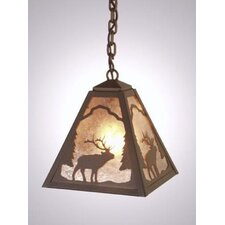 Elk Timber Ridge 1 Light Hanging Lantern