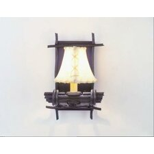 Bundle of Sticks 1 Light Wall Sconce
