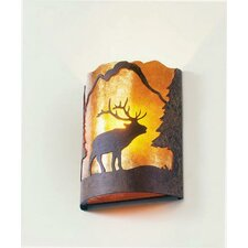 Elk Timber Ridge 1 Light Wall Sconce
