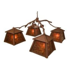 Saranac 4 Light Chandelier