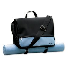 Blue Pilates Yoga Metro Bag with Yogi Mat