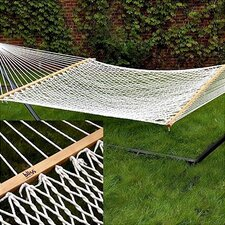 Classic Rope Hammock with Stand