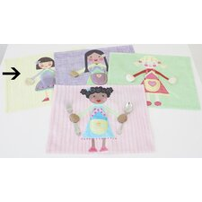 Purple Girl Placemat