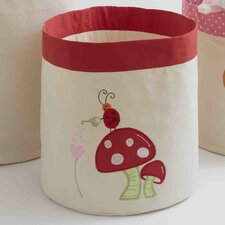 Alphabet Adventure Mushroom Toy Storage Bin