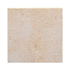 "Montreaux 13"" x 13"" Ceramic Floor Tile in Blanc"