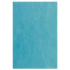 "Aquarelle 18"" x 12"" Ceramic Wall Tile in Sky Blue"
