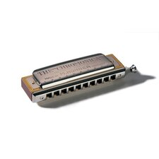 Chromonica Harmonica in Chrome - Key of G