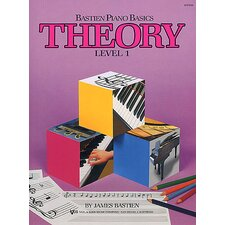 Bastien Piano Basics - Theory Level 1 Book