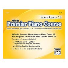 Premier Piano Course: Flash Cards, Level 1B