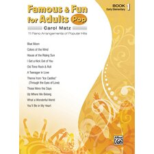 Famous and Fun for Adults: Pop, Book 1