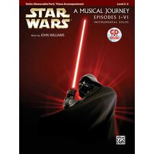 Star Wars® Instrumental Solos for Strings (Movies I-VI): Violin