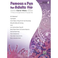 Famous and Fun for Adults: Pop, Book 4 11