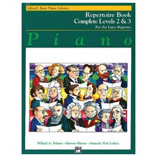 Basic Piano Course: Repertoire Book Complete 2 and 3