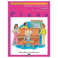 Basic Piano Course: Musical Concepts Book 4