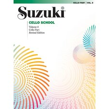 Suzuki Cello School Cello Part, Volume 8