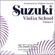 Suzuki Violin School CD, Volume 4 (Standard)