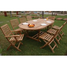 Bahama 9 Piece Dining Set