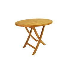 "Bahama 35"" Round Bistro Folding Table"