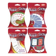 Magic Card Assortment 4 Piece Set