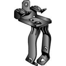 Spring Steel Flange Mount Conduit Clip Assembly