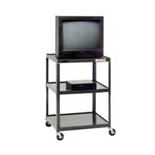 "Pixmate 25"" x 30"" Shelf Television Cart [25.5"", 34"", 42"", 48"", 54"" Heights]"