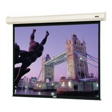 96390 Large Cosmopolitan Electrol Motorized Projection Screen - 92 x 164""