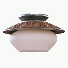 Fernleaf Breeze 1 Light Ceiling Fan Light Kit