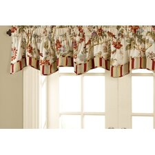 Charleston Fresh Chirp Rod Pocket Scallopeded Curtain Valance