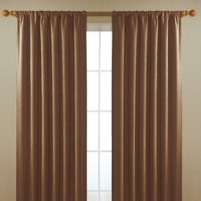 Alfred  Rod Pocket Window Curtain Single Panel