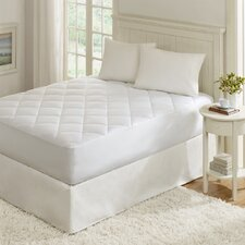 Ensure Quiet Nights Sateen Waterproof Mattress Pad