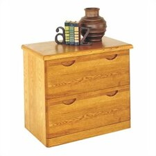 Waterfall Two-Drawer Lateral File