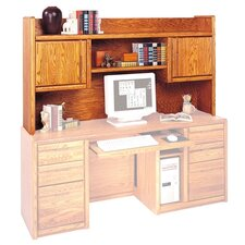 "Contemporary 36"" H x 66.75"" W Desk Hutch"