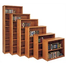 Contemporary Bookcase with 7 Shelves