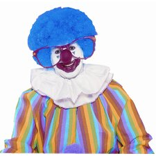 Clown Jumbo Afro Wig in Royal Blue