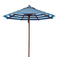 9' 8-panel Striped Umbrella
