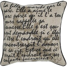 Printed Vintage Decorative Pillow