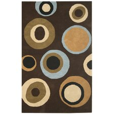 Volare Brown Bubblerary Rug