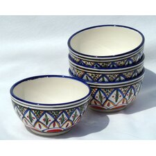 Tabarka Design Soup / Cereal Bowl (Set of 4)