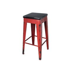Sturdy Distressed Barstool