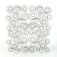 Swirl Metal Wall Decor