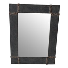 Rustic Metal Mirror I