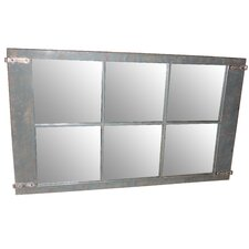 Rustic Metal Mirror II