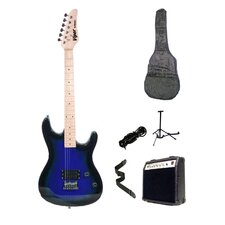Blue Burst Viper Electric Guitar Combo with Amplifier